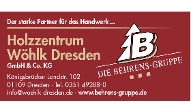 Holzzentrum Wöhlk Dresden