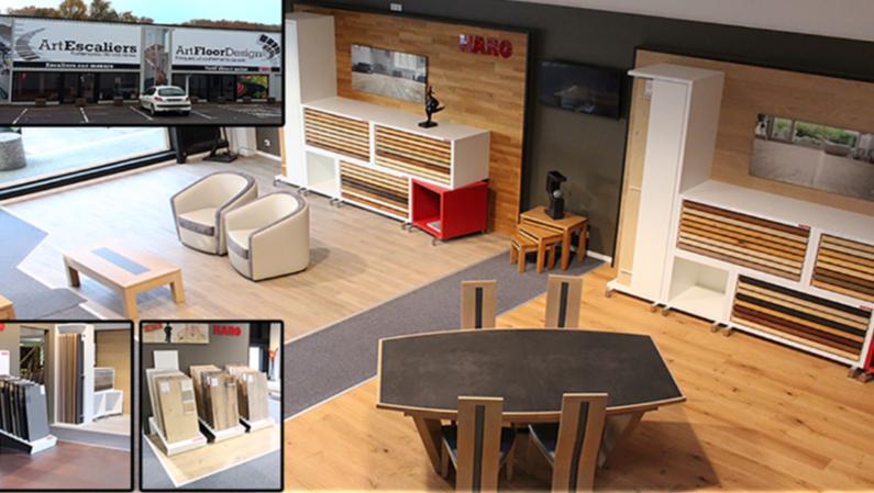 « 400 m2 pour votre intérieur » Art Floor Design vous accompagne dans vos travaux d'ameublement intérieur. Observez, et prenez dans vos mains vos futurs sols. Profitez d'un professionnel du bois pour la pose de votre parquet ou emportez le avec nos consei