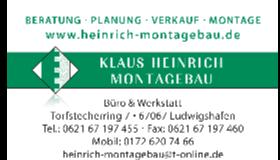 Logo Klaus Heinrich Montagebau