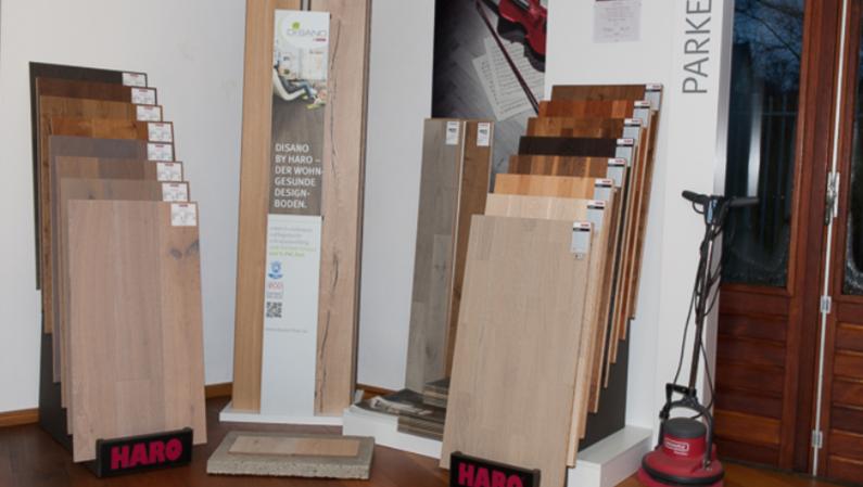 Parket, Laminaat, Disano en Celenio voorbeelden in onze showroom