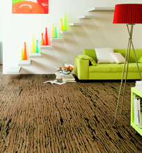 Bring the tiger into your home! Exceptional floor design with HARO Corkett Tigra