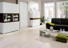 Eiche, Birne und Olive - Laminatböden mit Holzdekor am beliebtesten