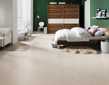 Showing character - Innovative interior designs with cork floors.