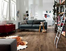 Kleine Räume werden groß - Laminatböden im richtigen Format und Dekor schaffen neue Raumwirkung