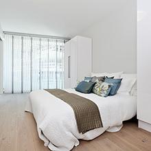 Wohnen am Meer – mitten in der Stadt - Wohnkomplex mit Blick auf den Osloer Hafen – und Parkett Made in Germany unter den Füßen