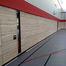 HARO Sports Flooring - Schul- und Vereinssport wieder auf der Sonnenseite - Sanierung mit Sportboden und Prallwand von HARO Sports Flooring.