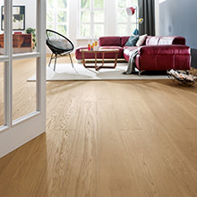 Creating Elegant Interiors - New trend towards parquet flooring with a subtle, refined look