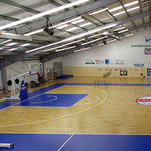 HARO Sports Flooring - It's rolling! - Sports Center for the disabled Thuringia goes for HARO sports floor