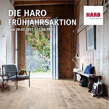 Die große HARO Frühjahrsaktion: Aktionsboden kaufen und mit etwas Glück, Geld zurück