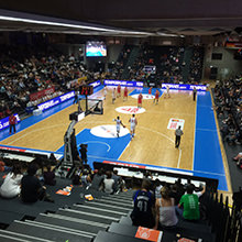 Good, better, Supercup! - HARO Sports supplies the floor for the Basketball Supercup 2015 in Hamburg