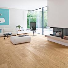 HARO Parkett-Neuheiten 2015 - Eine neue Landhausdielen-Dimension: HARO Plaza - Großzügigkeit einer Schlossdiele + einfache Verlegbarkeit