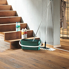 Floor care made simple - The HARO clean and green series makes floor care quick, simple and natural