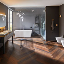 Dream bathroom with glam factor